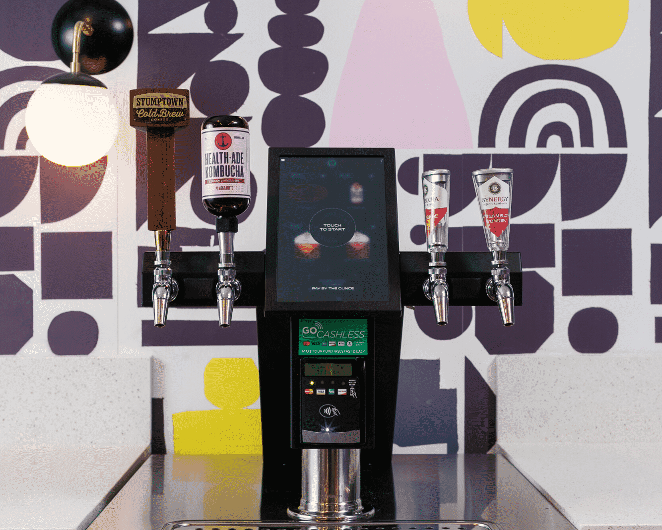 Kombucha and Coffee on Tap