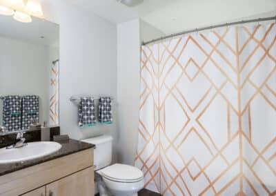 Bathroom with big vanity