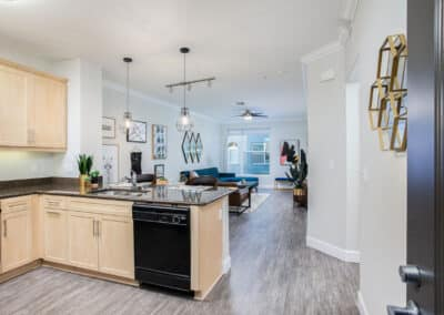 Open, spacious floor plans